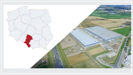 Hot on the southern part of Poland on industrial market