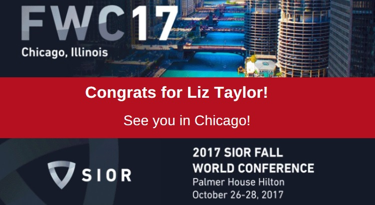 Liz Taylor, has won The Society of industrial and Office Realtors (SIOR), and SIOR Europe's inaugural student competition