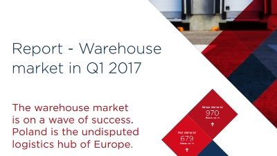AXI IMMO report of industrial market in Poland in Q1 2017