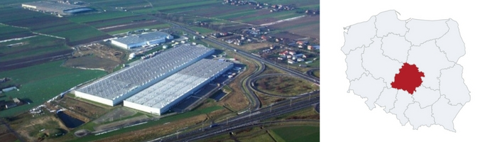 warehouse central Poland - Top 5 locations with the lowest rent rates for a warehouse space in Poland