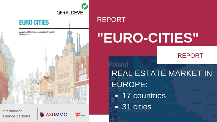 "Positive sentiments among investors in the European real estate market - raport ""Euro Cities"" Gerald Eve International & AXI IMMO"