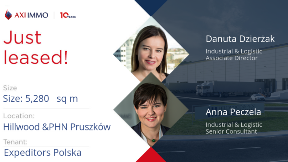 Expeditors Polska will move in to the Hillwood & PHN Pruszków