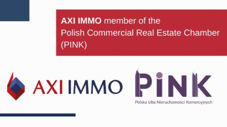 AXI IMMO member of the Polish Commercial Real Estate Chamber (PINK)