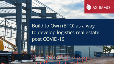 Build to Own (BTO) as a way to develop logistics real estate post COVID-19