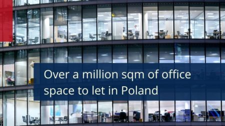 Quarterly report 3 Q 2020 - office space in Poland - over a million sqm of office space to let.