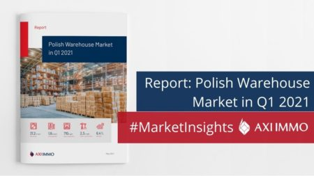 Report: Polish Warehouse Market in Q1 2021 by AXI IMMO