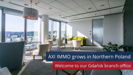 AXI IMMO grows in Northern Poland - new office in Gdansk