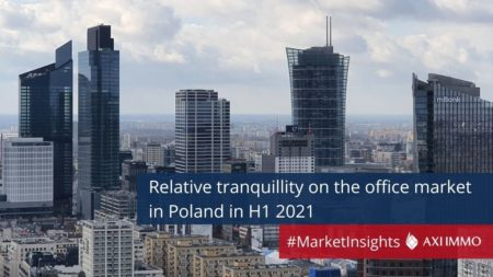 First half of 2021 on the office market in Poland